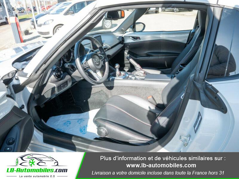 Mazda MX-5 1.5L SKYACTIV-G 132 ch Blanc occasion à Beaupuy - photo n°6