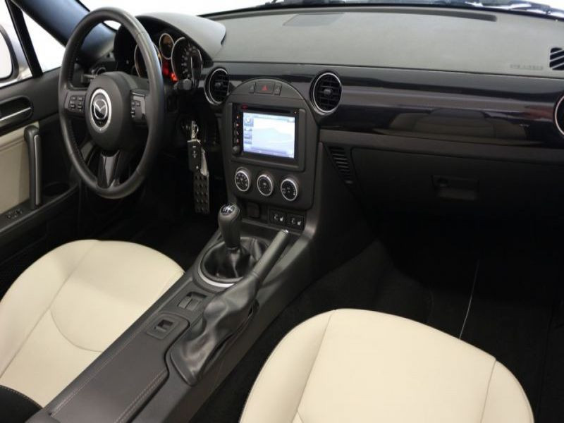 Mazda MX-5 1.8 MZR Blanc occasion à Beaupuy - photo n°7