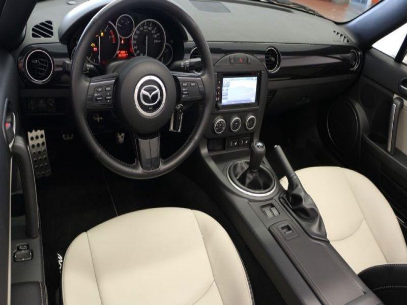 Mazda MX-5 1.8 MZR Blanc occasion à Beaupuy - photo n°2