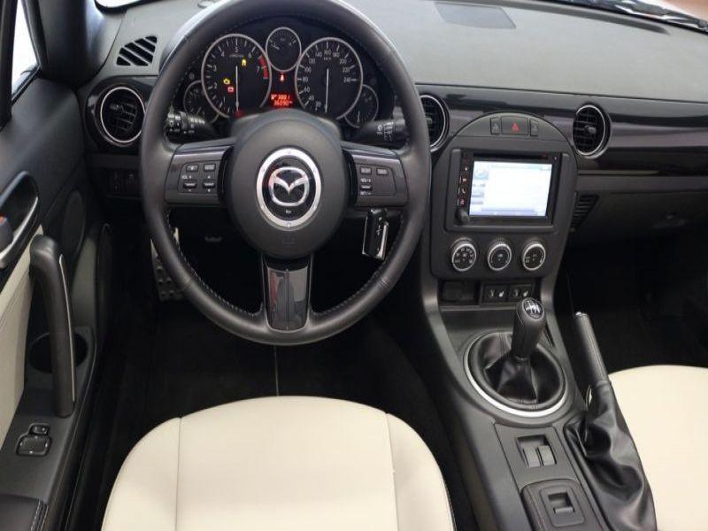 Mazda MX-5 1.8 MZR Blanc occasion à Beaupuy - photo n°5