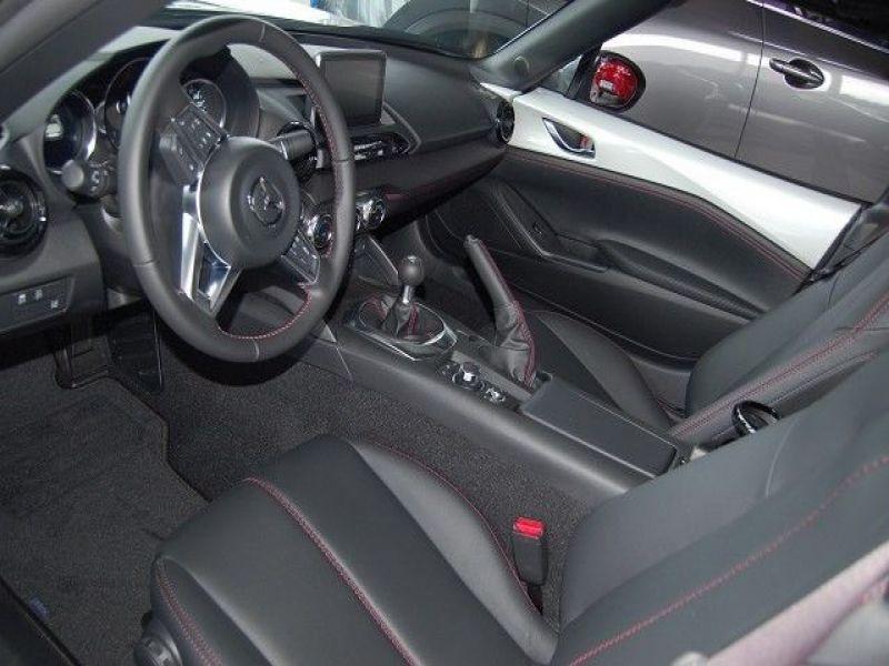 Mazda MX-5 2.0 Skyactiv-G 160 RF Blanc occasion à Beaupuy - photo n°2