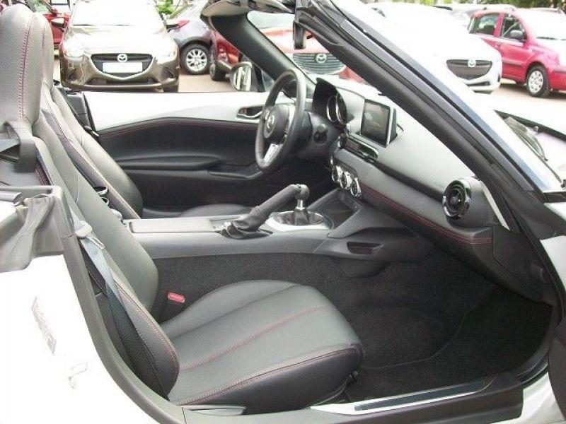 Mazda MX-5 2.0 Skyactiv-G 160 Blanc occasion à Beaupuy - photo n°5