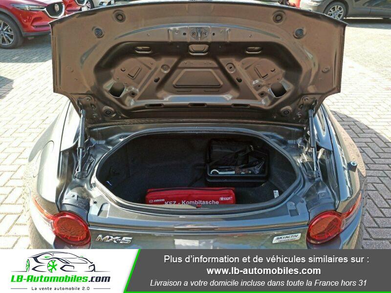 Mazda MX-5 2.0L SKYACTIV-G 160 ch Gris occasion à Beaupuy - photo n°11