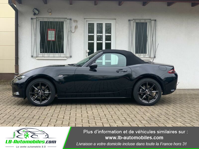 Mazda MX-5 2.0L SKYACTIV-G 160 ch Noir occasion à Beaupuy - photo n°3