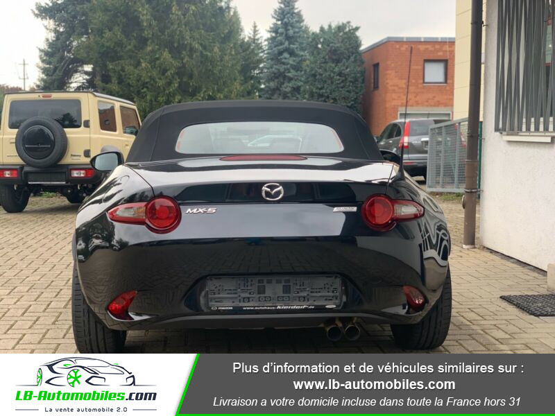 Mazda MX-5 2.0L SKYACTIV-G 160 ch Noir occasion à Beaupuy - photo n°5