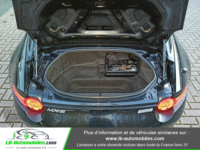 Mazda MX-5 2.0L SKYACTIV-G 160 ch Noir occasion à Beaupuy - photo n°9