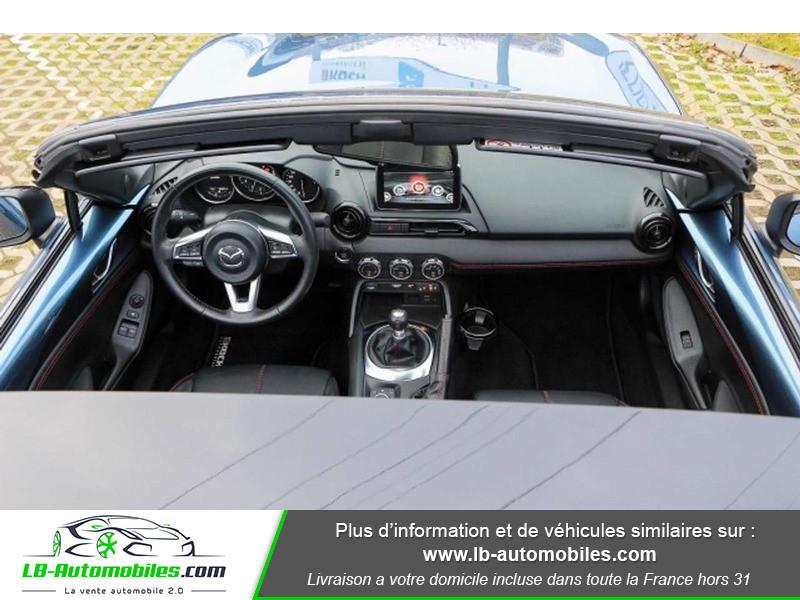 Mazda MX-5 2.0L SKYACTIV-G 160 ch Bleu occasion à Beaupuy - photo n°2