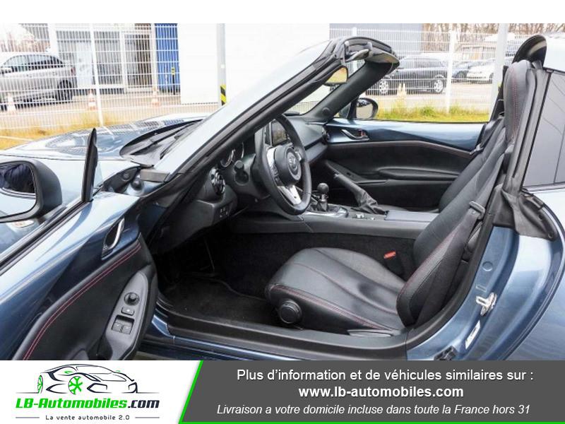 Mazda MX-5 2.0L SKYACTIV-G 160 ch Bleu occasion à Beaupuy - photo n°4