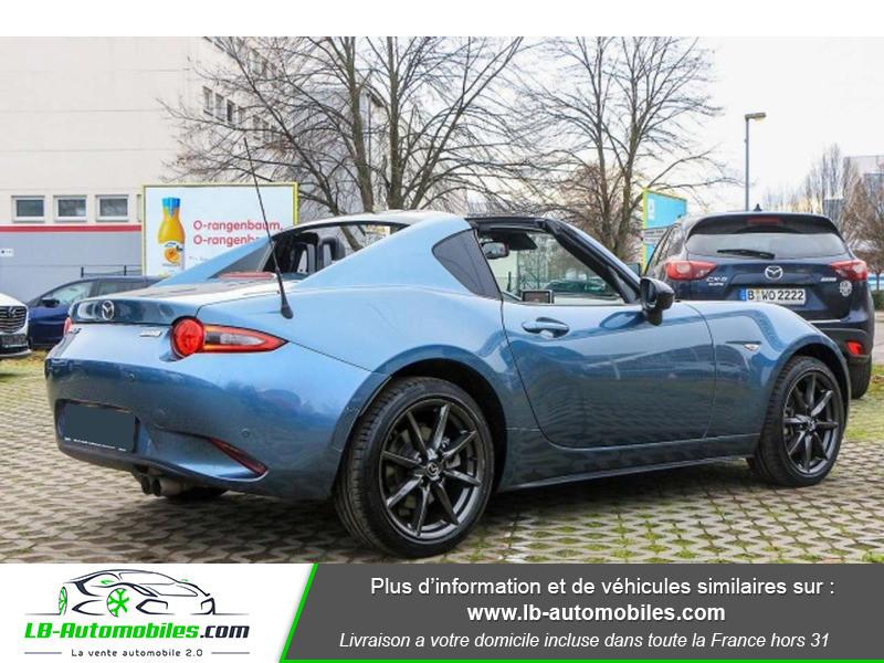 Mazda MX-5 2.0L SKYACTIV-G 160 ch Bleu occasion à Beaupuy - photo n°3