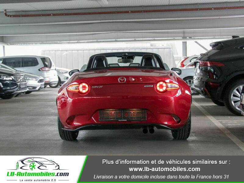 Mazda MX-5 2.0L SKYACTIV-G 160 ch Rouge occasion à Beaupuy - photo n°12