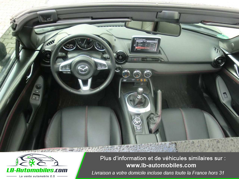 Mazda MX-5 2.0L SKYACTIV-G 160 ch Gris occasion à Beaupuy - photo n°2