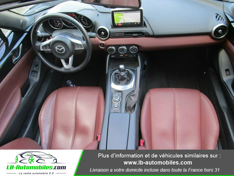 Mazda MX-5 2.0L SKYACTIV-G 160 ch Noir occasion à Beaupuy - photo n°2
