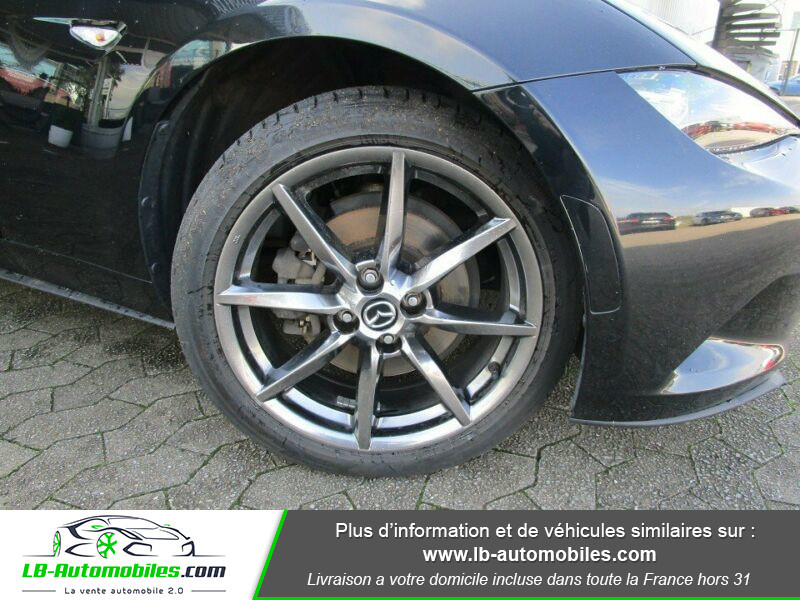 Mazda MX-5 2.0L SKYACTIV-G 160 ch Noir occasion à Beaupuy - photo n°8