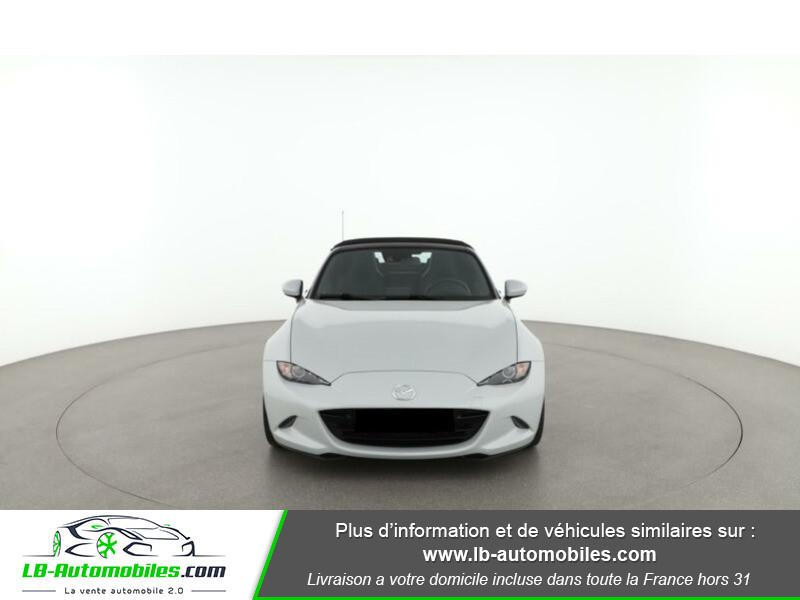 Mazda MX-5 2.0L SKYACTIV-G 160 ch Blanc occasion à Beaupuy - photo n°4
