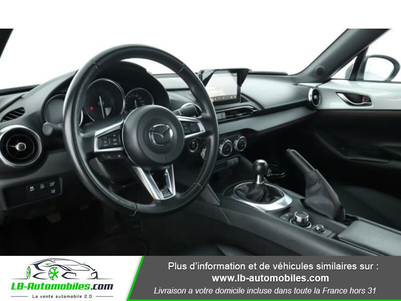Mazda MX-5 2.0L SKYACTIV-G 160 ch Blanc occasion à Beaupuy - photo n°12