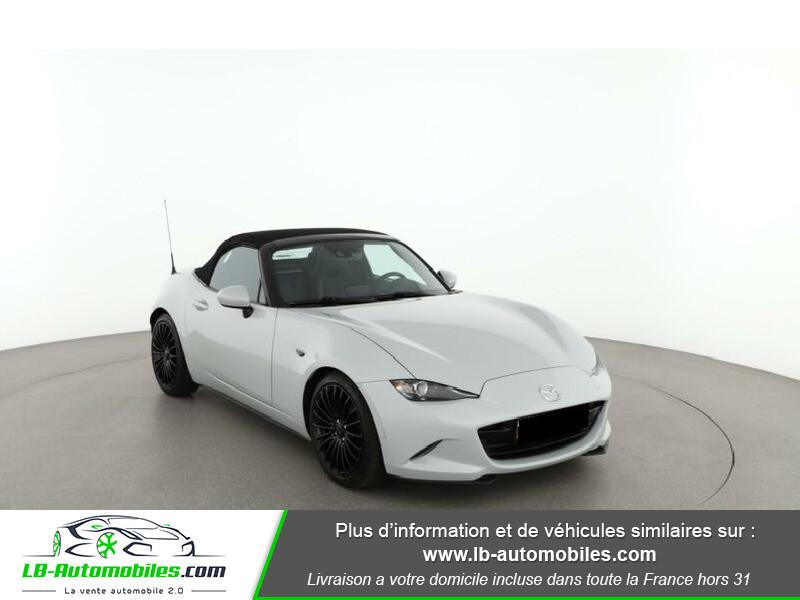 Mazda MX-5 2.0L SKYACTIV-G 160 ch Blanc occasion à Beaupuy - photo n°5