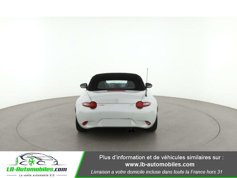Mazda MX-5 2.0L SKYACTIV-G 160 ch Blanc occasion à Beaupuy - photo n°9