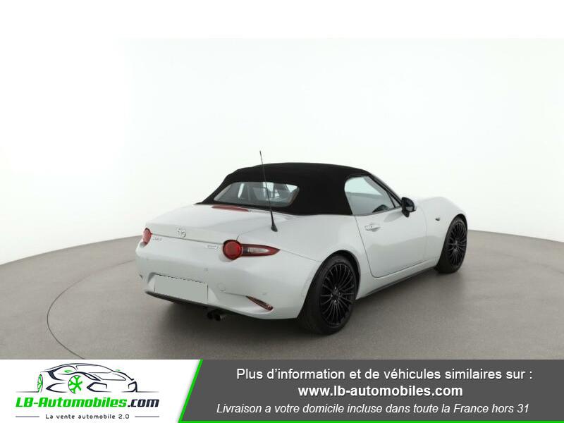 Mazda MX-5 2.0L SKYACTIV-G 160 ch Blanc occasion à Beaupuy - photo n°7