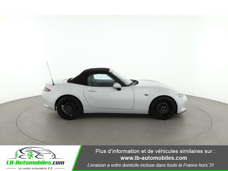 Mazda MX-5 2.0L SKYACTIV-G 160 ch Blanc occasion à Beaupuy - photo n°6