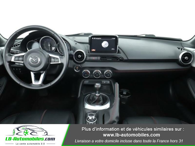 Mazda MX-5 2.0L SKYACTIV-G 160 ch Blanc occasion à Beaupuy - photo n°2