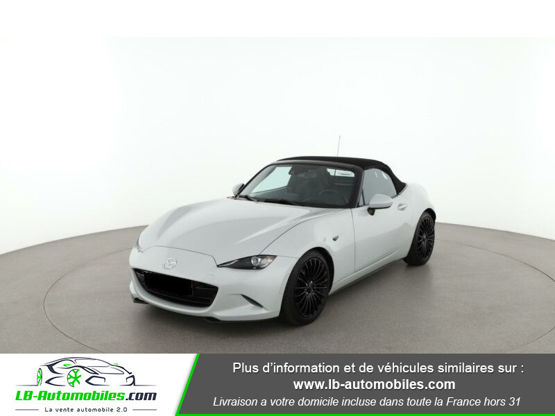 Mazda MX-5 2.0L SKYACTIV-G 160 ch Blanc occasion à Beaupuy