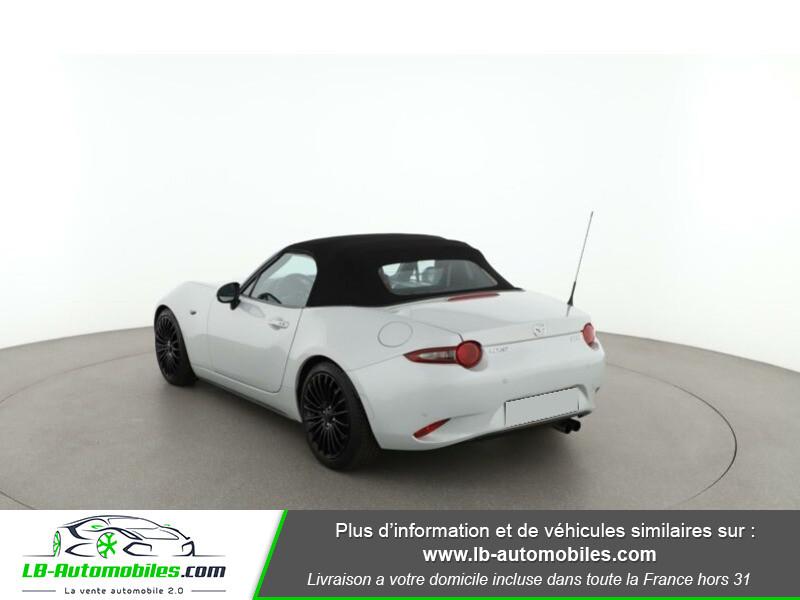 Mazda MX-5 2.0L SKYACTIV-G 160 ch Blanc occasion à Beaupuy - photo n°3