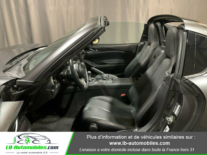 Mazda MX-5 2.0L SKYACTIV-G 160 ch Gris occasion à Beaupuy - photo n°4