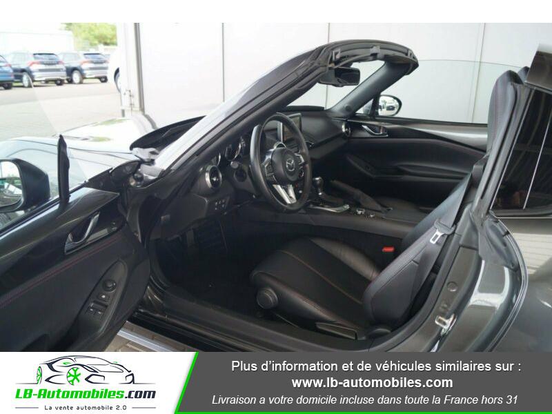 Mazda MX-5 2.0L SKYACTIV-G 160 ch Gris occasion à Beaupuy - photo n°3