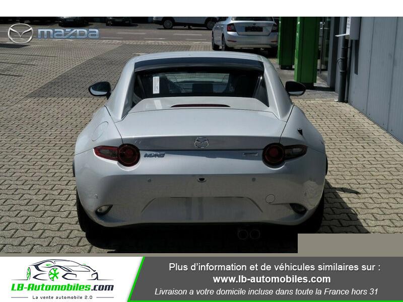 Mazda MX-5 2.0L SKYACTIV-G 184 ch Blanc occasion à Beaupuy - photo n°5