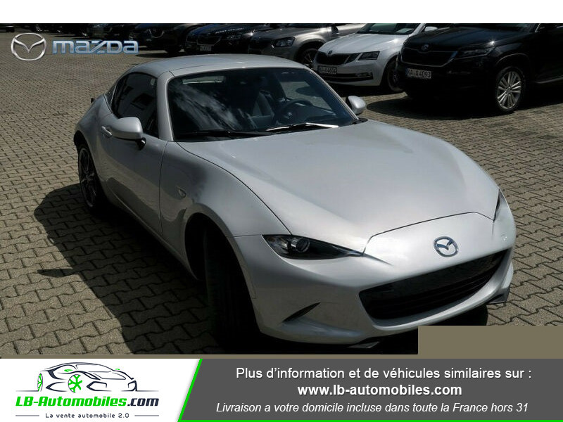 Mazda MX-5 2.0L SKYACTIV-G 184 ch Blanc occasion à Beaupuy - photo n°6