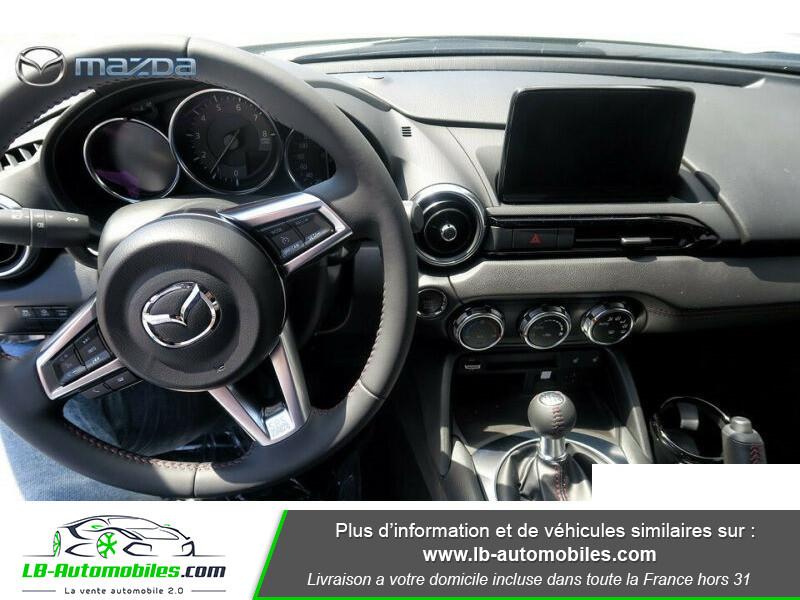 Mazda MX-5 2.0L SKYACTIV-G 184 ch Blanc occasion à Beaupuy - photo n°2