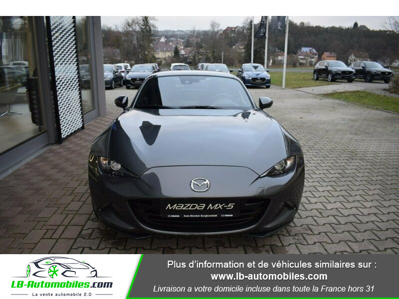 Mazda MX-5 2.0L SKYACTIV-G 184 ch Gris occasion à Beaupuy - photo n°9
