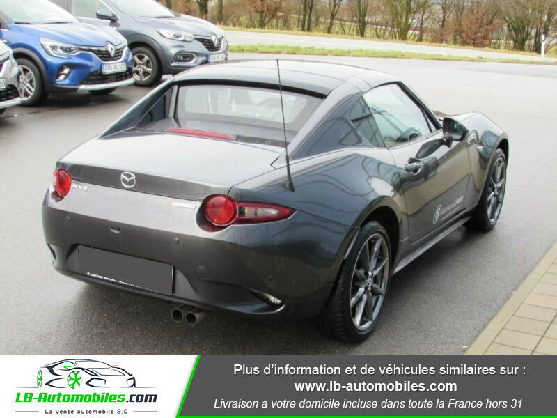 Mazda MX-5 2.0L SKYACTIV-G 184 ch Gris occasion à Beaupuy - photo n°2