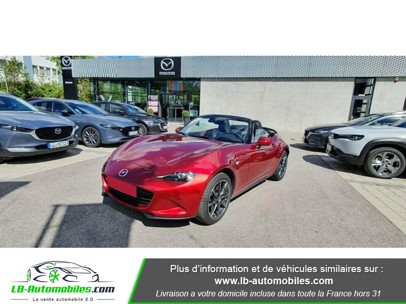 Mazda MX-5 2.0L SKYACTIV-G 184 ch Rouge occasion à Beaupuy
