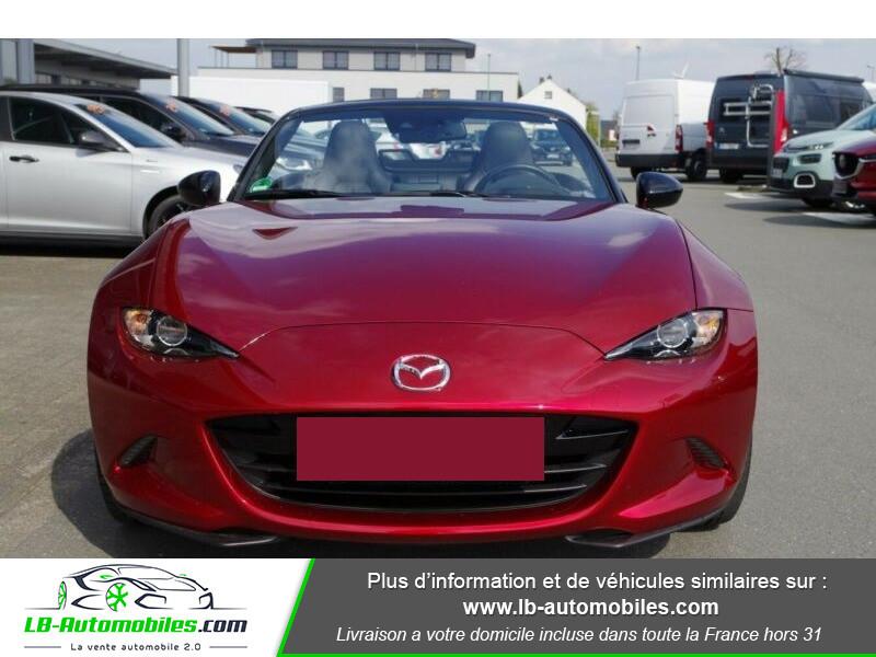 Mazda MX-5 2.0L SKYACTIV-G 184 ch Rouge occasion à Beaupuy - photo n°4