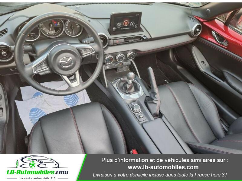 Mazda MX-5 2.0L SKYACTIV-G 184 ch Rouge occasion à Beaupuy - photo n°2