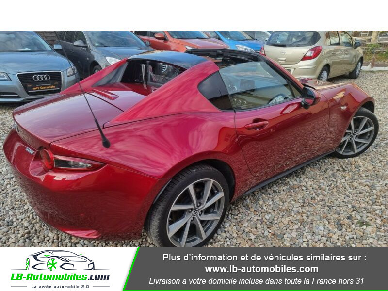 Mazda MX-5 2.0L SKYACTIV-G 184 ch Rouge occasion à Beaupuy - photo n°3