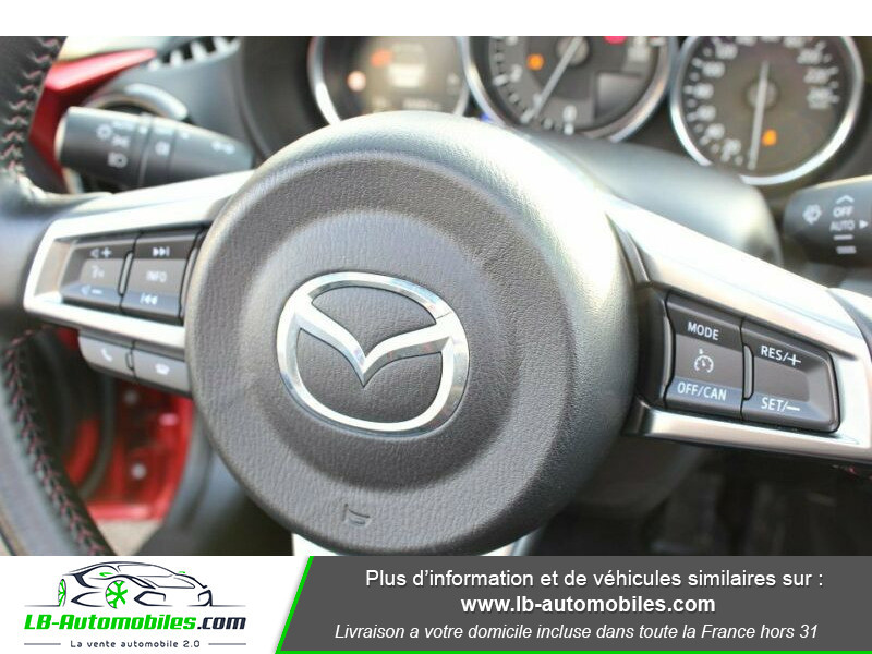 Mazda MX-5 2.0L SKYACTIV-G 184 ch Rouge occasion à Beaupuy - photo n°5