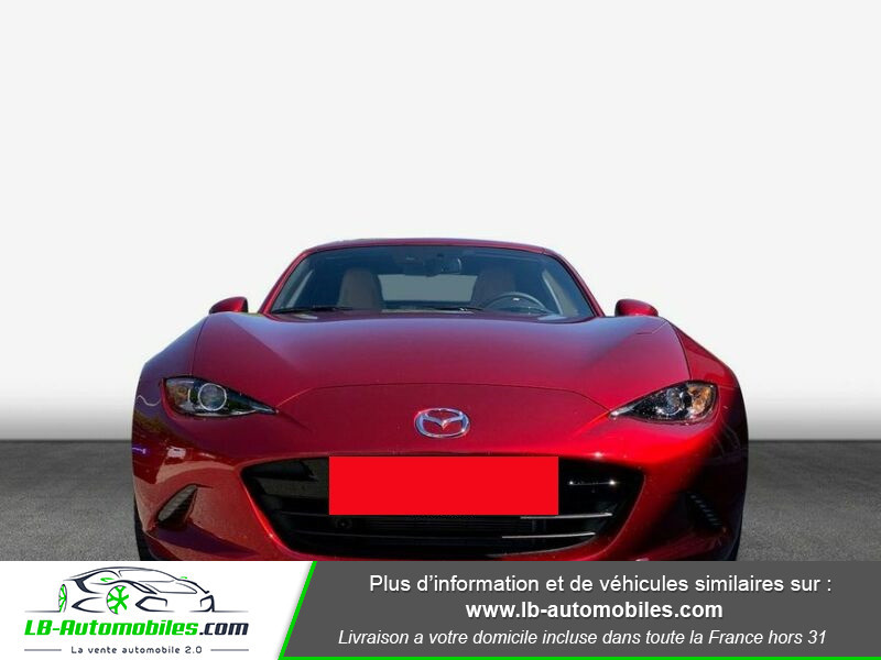 Mazda MX-5 2.0L SKYACTIV-G 184 ch Rouge occasion à Beaupuy - photo n°8