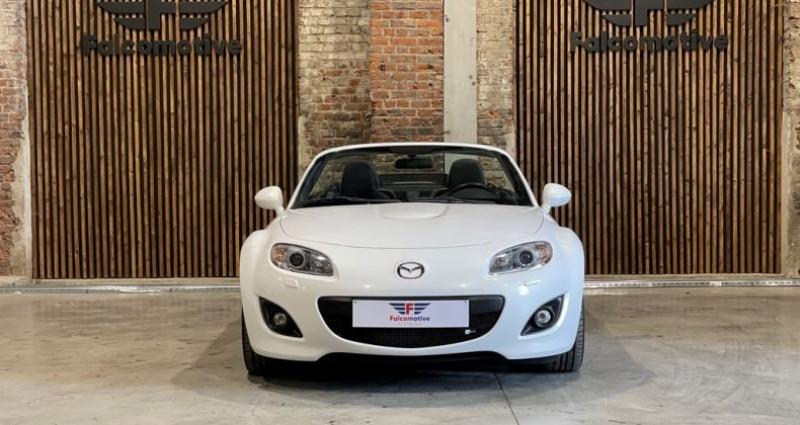 Mazda MX-5 Cabrio - White KNIGHT - Als nieuw Blanc occasion à HALEN - photo n°5