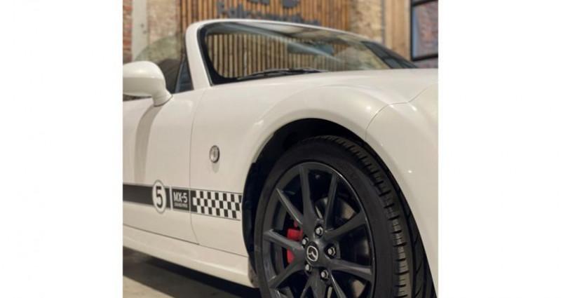 Mazda MX-5 Cabrio - White KNIGHT - Als nieuw Blanc occasion à HALEN - photo n°7