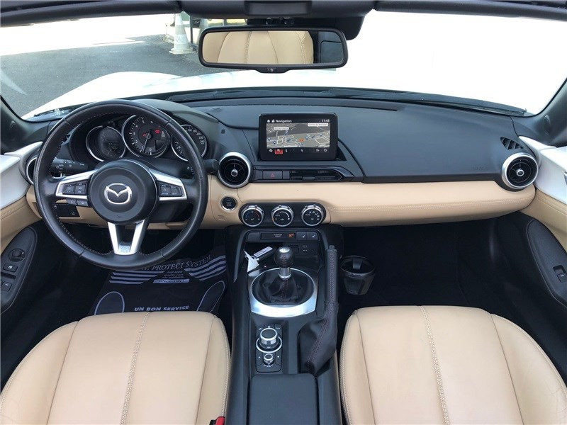 Mazda MX-5 MX5 ST 1.5L SKYACTIV-G 131 ch Cherry Top Blanc occasion à PERPIGNAN - photo n°16