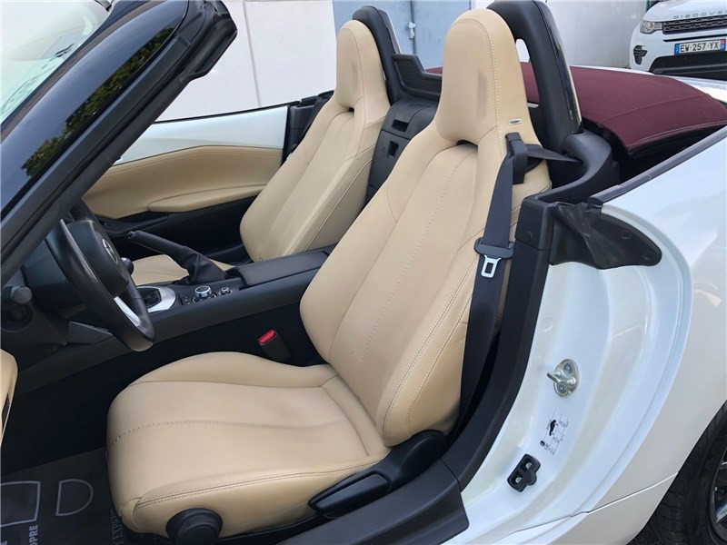 Mazda MX-5 MX5 ST 1.5L SKYACTIV-G 131 ch Cherry Top Blanc occasion à PERPIGNAN - photo n°17