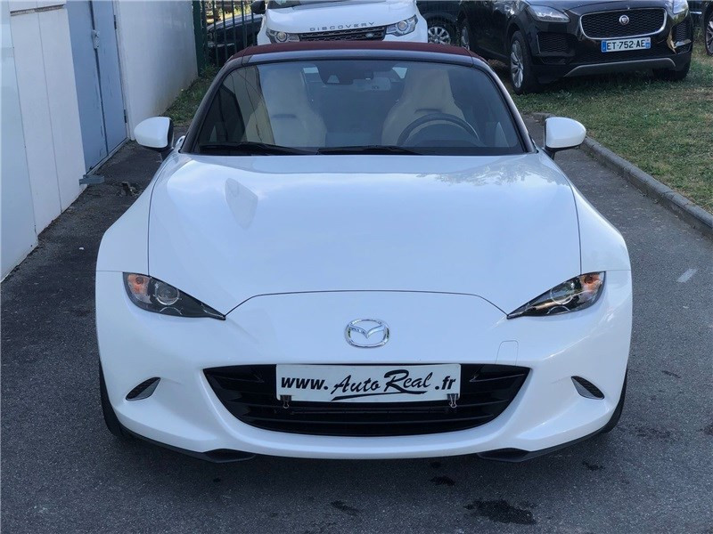 Mazda MX-5 MX5 ST 1.5L SKYACTIV-G 131 ch Cherry Top Blanc occasion à PERPIGNAN - photo n°5