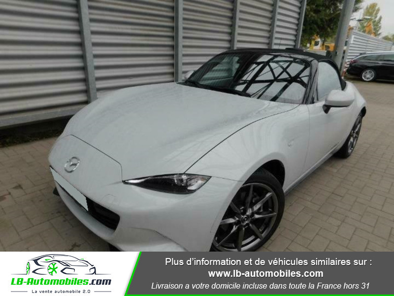 Mazda MX-5 ST 2.0L SKYACTIV-G 160 ch Blanc occasion à Beaupuy