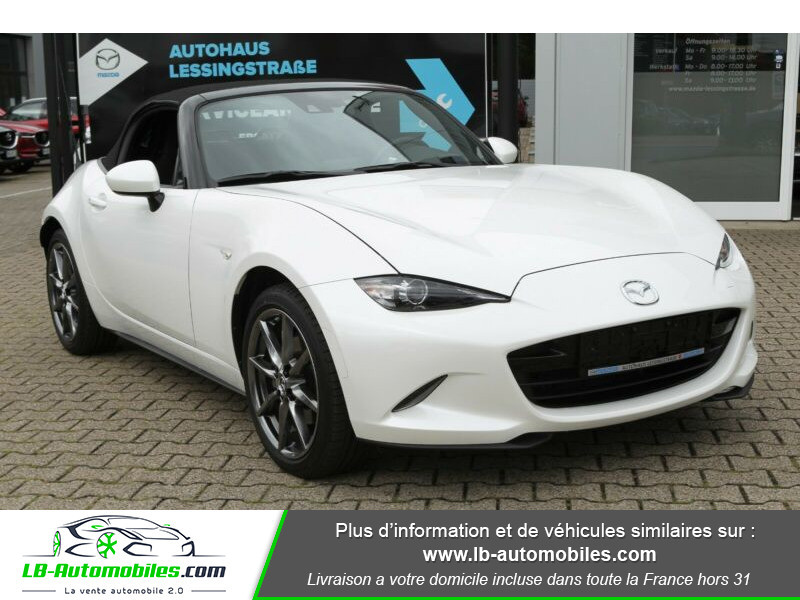 Mazda MX-5 ST 2.0L SKYACTIV-G 160 ch Blanc occasion à Beaupuy - photo n°10