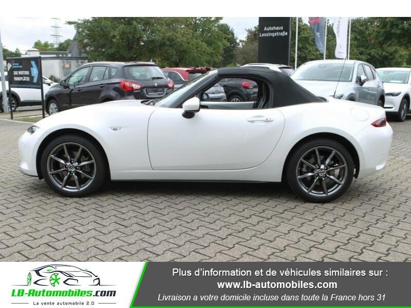 Mazda MX-5 ST 2.0L SKYACTIV-G 160 ch Blanc occasion à Beaupuy - photo n°8