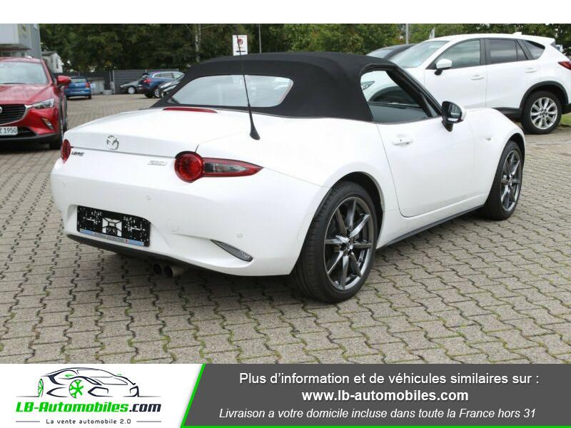 Mazda MX-5 ST 2.0L SKYACTIV-G 160 ch Blanc occasion à Beaupuy - photo n°3