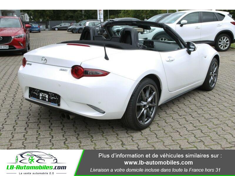 Mazda MX-5 ST 2.0L SKYACTIV-G 160 ch Blanc occasion à Beaupuy - photo n°17