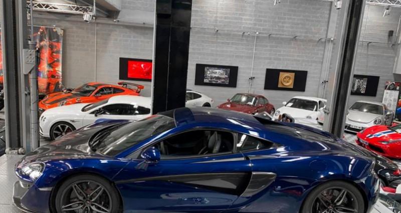 Mclaren 570s MCLAREN 570 S - ECOTAXE PAYEE Bleu occasion à SAINT LAURENT DU VAR - photo n°2
